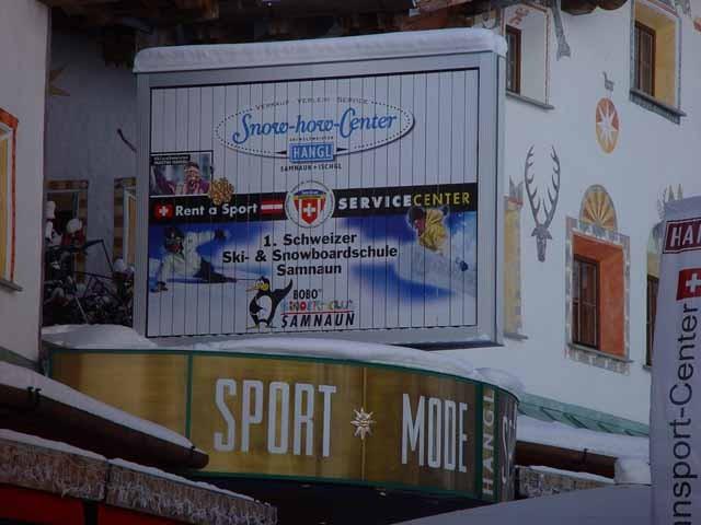 Fa. Sport Hangl / Samnaun Dachmontage 3 x 2 m
