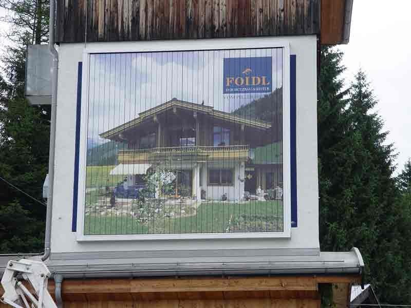 Fa. FOidl / Fieberbrunn Dachmontage 4 x 4 m