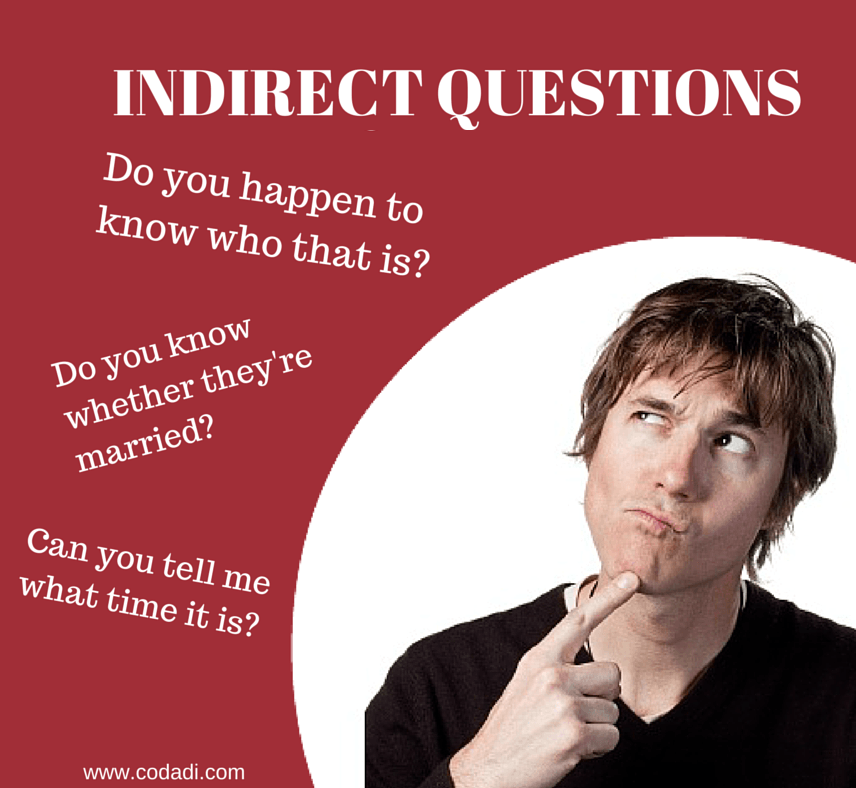 Indirect Questions Como Hacer Preguntas Indirectas En Ingles Aprende Inglés