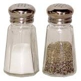 SALT SHAKER AND PEPPER SHAKER