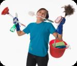 ¿Eres un loco por la limpieza?