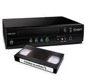 VCR [Video cassette recorder]