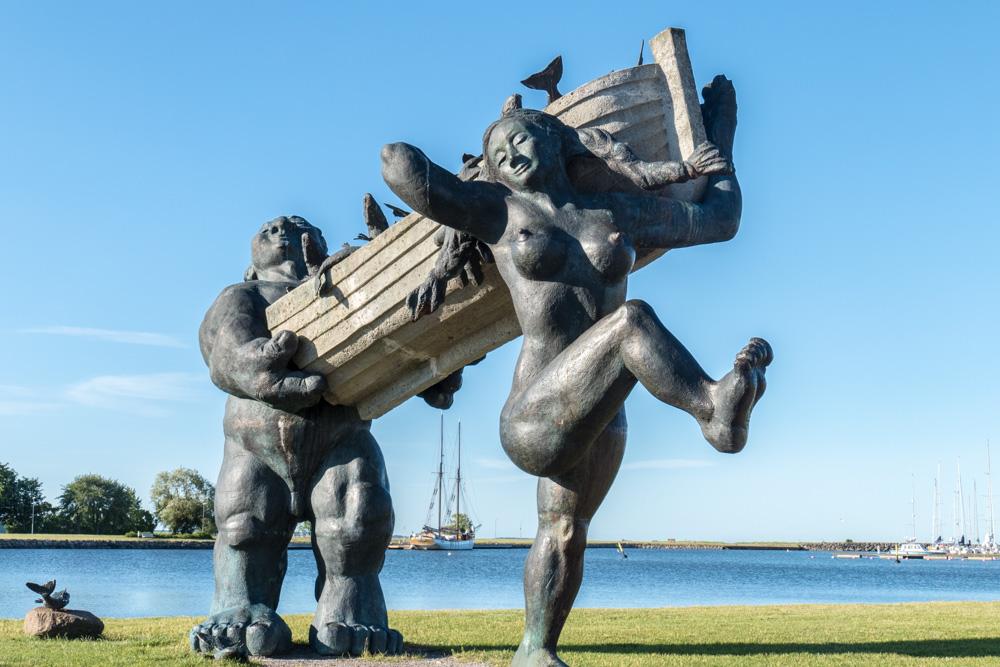 Der Riese Töll und seine Frau Pirit