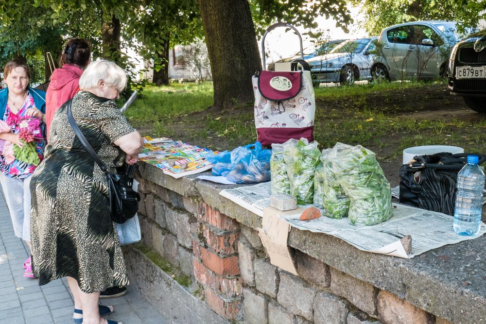 Kleinmarkt in Sowetsk (Tislit)