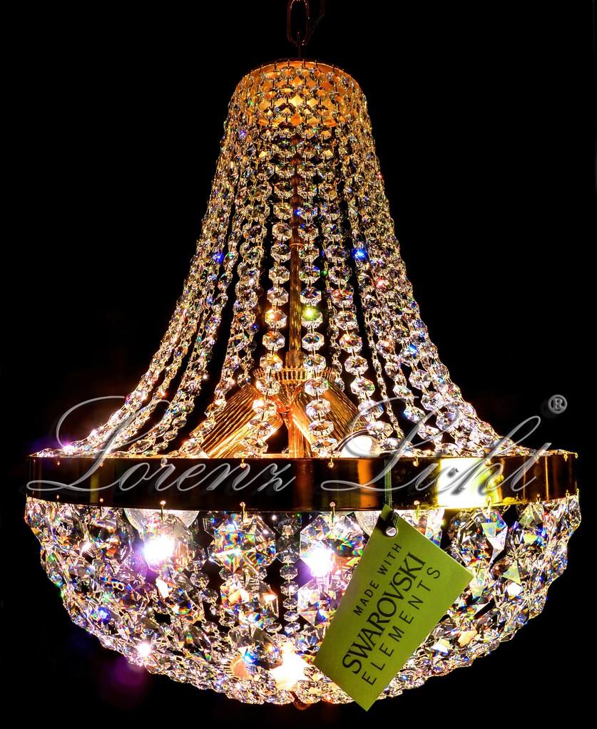 kristall kronleuchter crystal chandelier mit swarovski kristallen online kaufen lorenz licht. Black Bedroom Furniture Sets. Home Design Ideas