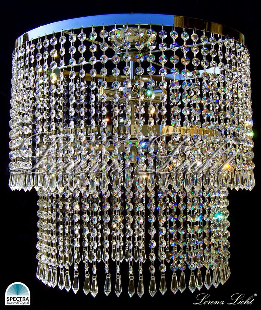 kristall kronleuchter/ crystal chandelier with swarovski crystals ...