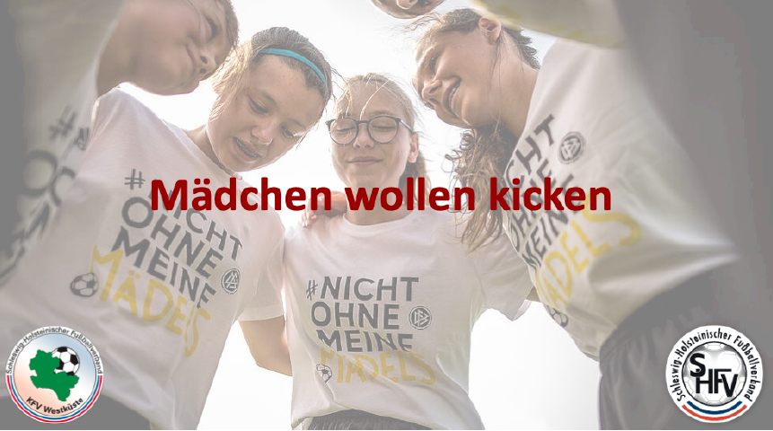 Mädchen wollen kicken - Fußballturniere