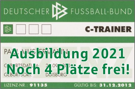 C-Lizenzausbildung 2021 - Noch 4 Plätze in Kellinghusen frei!!