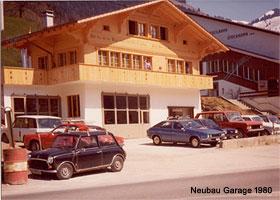 Neubau Garage 1980