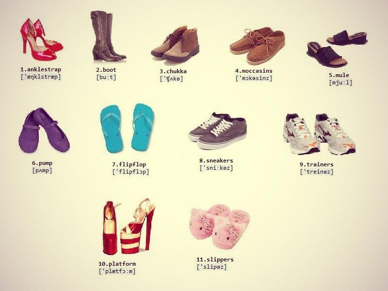 все перевод картинок на обувь общих