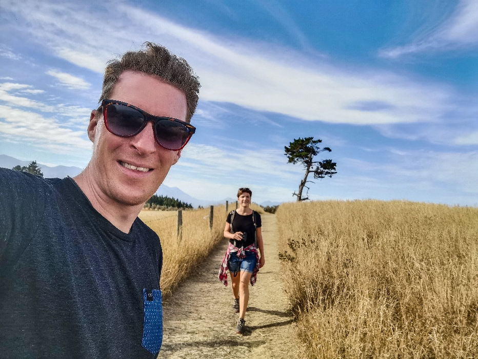 Wandern durchs Kornfeld