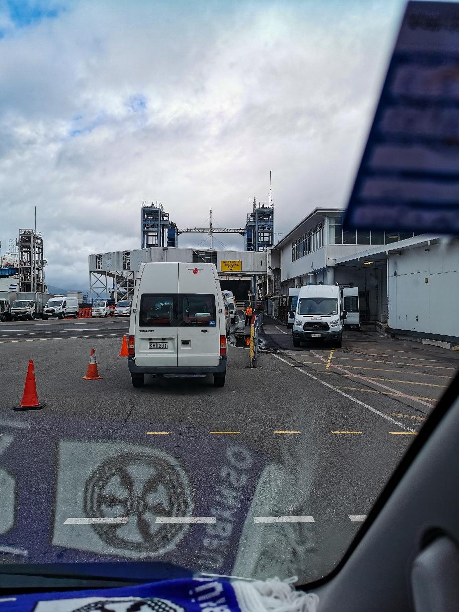 Osna ole - Ab geht's auf die Ferry
