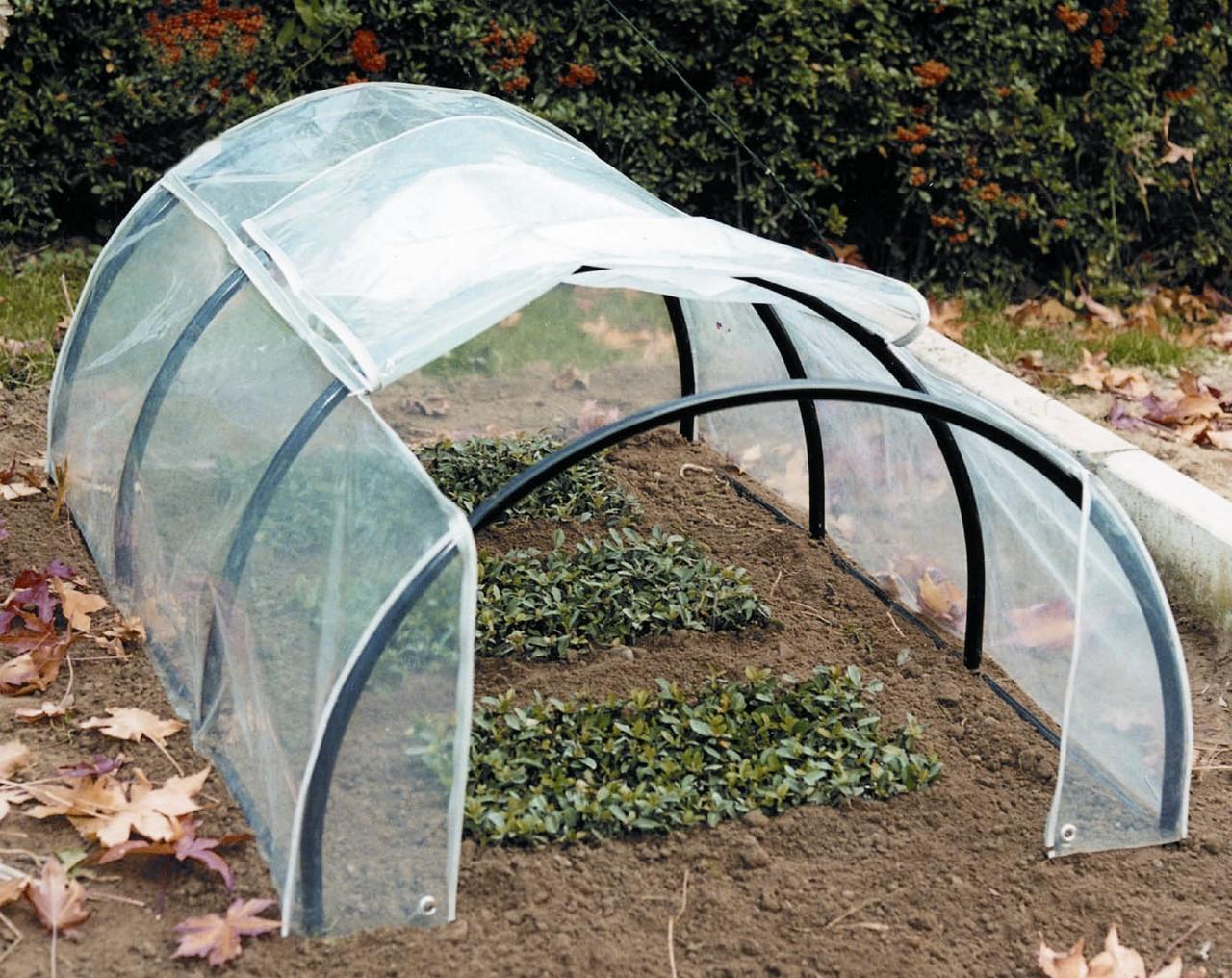 Serre produzione di articoli in filo metallico per il for Archi per serre da orto