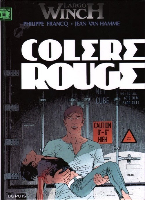 Largo Winch , Tome 18 : Colere Rouge