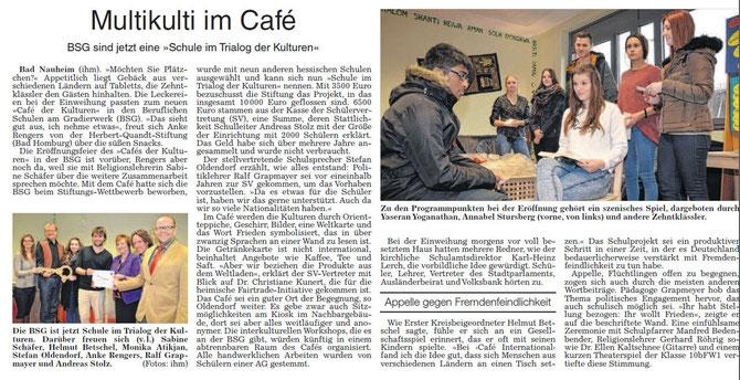 Quelle: Wetterauer Zeitung (Zum Lesen bitte anklicken)