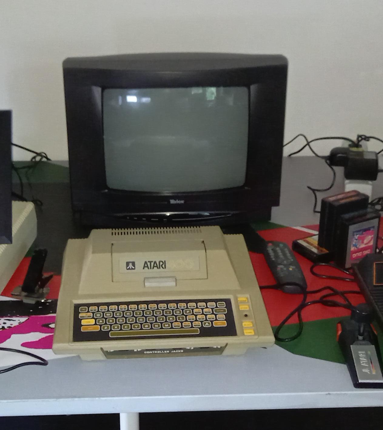 Atari 400 und Hardwarespende - TV