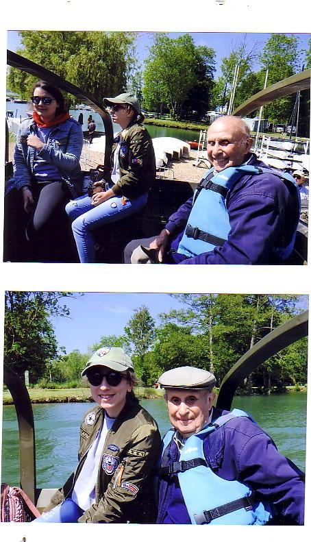 Promenade en DUKW pour François MAILLARD, 91 ans, vétéran de l'AFCVM