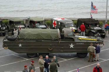 l'AFCVM à ARROMANCHES, Juin 2005