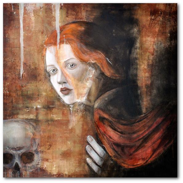 """""""fidere"""" 90 x 90 cm, 2009"""