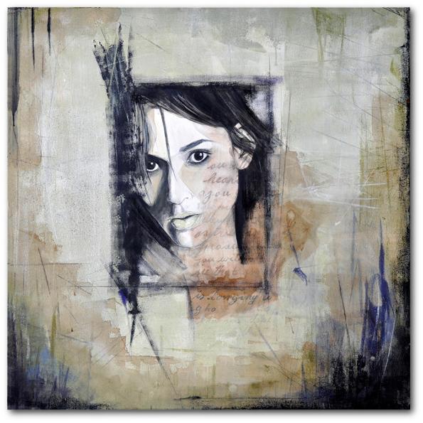 """winona forever"" 90 x 90 cm, 2009 •"