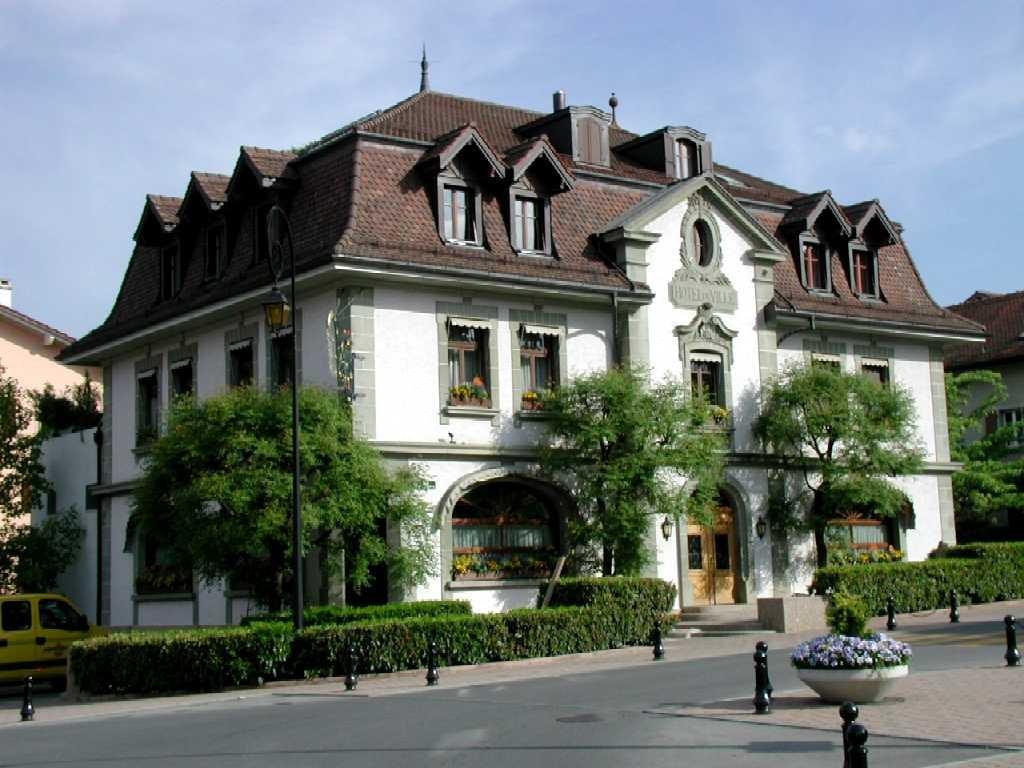Hotel de Ville - Restaurant Girardet