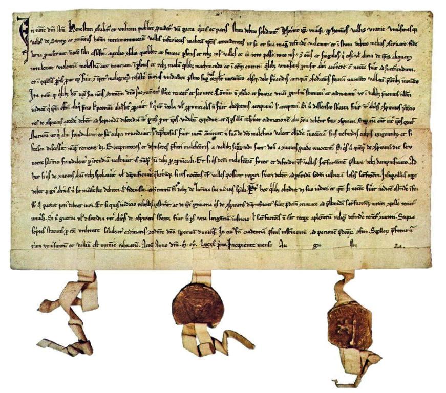 Schwyz Bundesbrief
