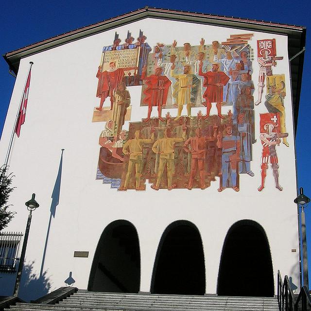 Schwyz Bundesbriefarchiv