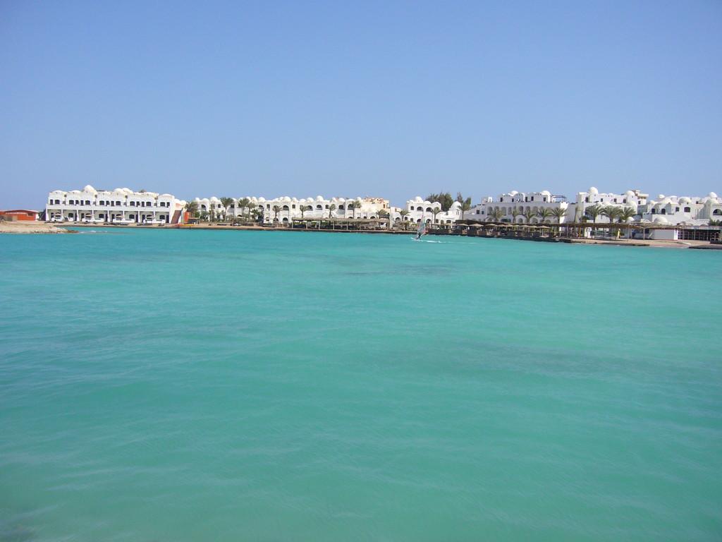 Hotel Arabella vom Boot aus