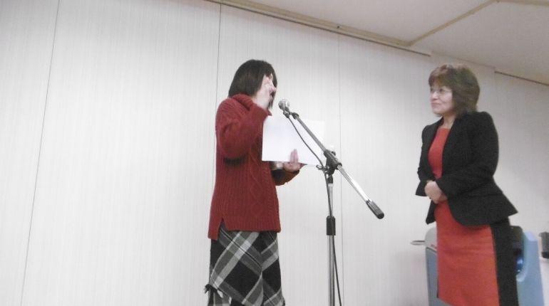(有)ケアアシスト〜忘年会 表彰式