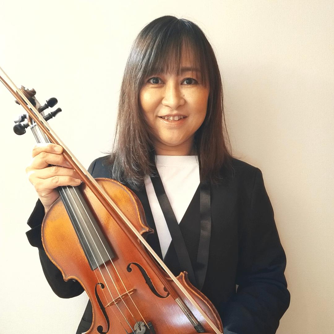 西大寺こどもバイオリン教室講師紹介