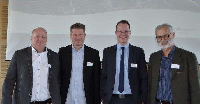 """Referenten und Moderator der Tagung """"Nachhaltigkeit in der GG"""" beim TRC in Köln am 29.5.19"""