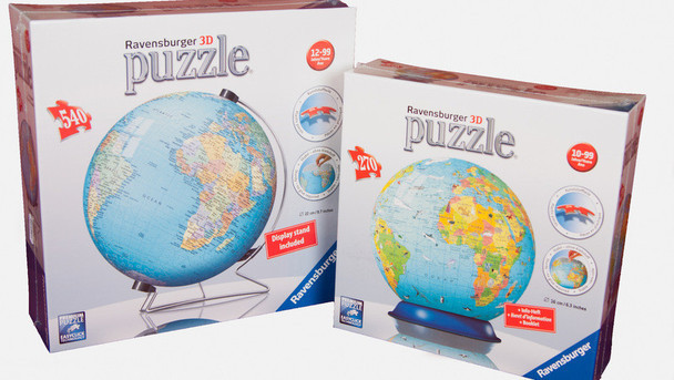 Taille des puzzle ball