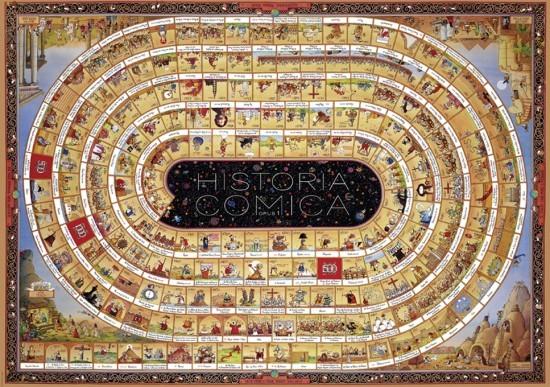 degano historia comica opus 1 puzzle 4000 pi ces puzzle passion. Black Bedroom Furniture Sets. Home Design Ideas