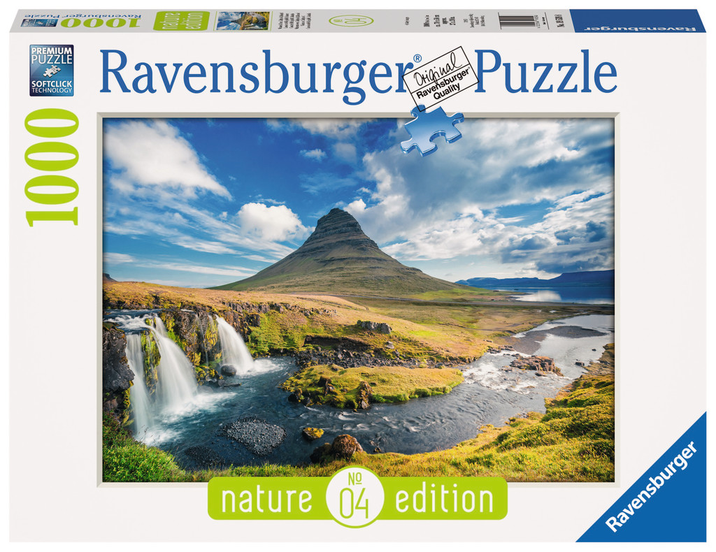 cascade de kirkjufell islande puzzle passion. Black Bedroom Furniture Sets. Home Design Ideas