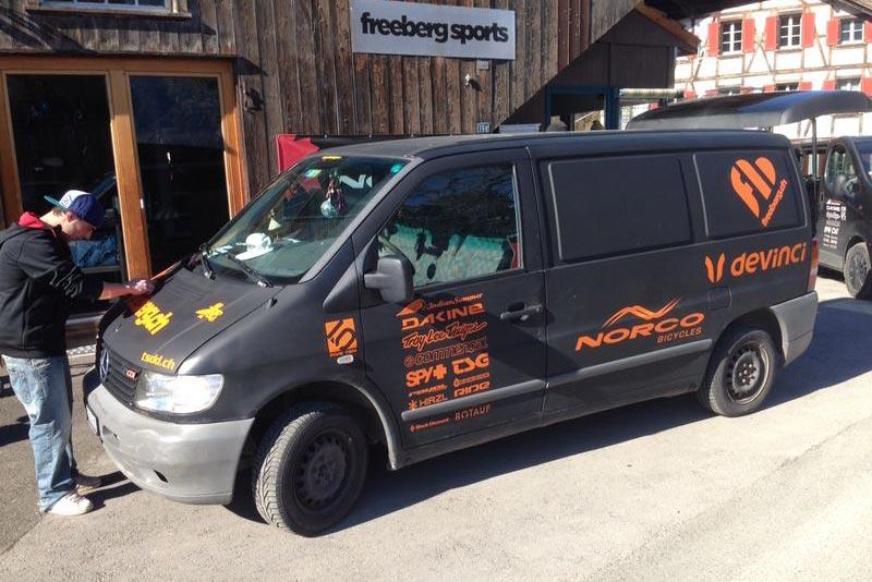Geschäftsbus für Freeberg
