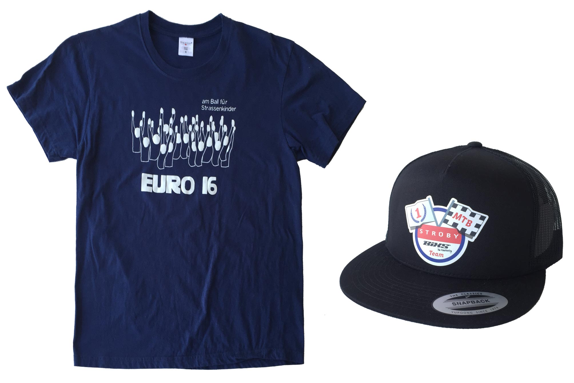 T-Shirt und Cap
