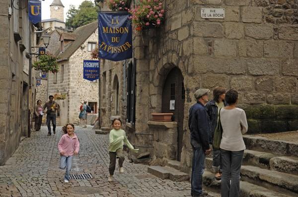 Rue vieille à Aubusson