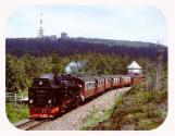 Harzer Brockenbahn, Dampflokomotive