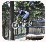 Mountainbiker Bikepark Wurmberg