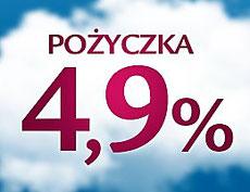 Pożyczka 4,9% od Alior Banku