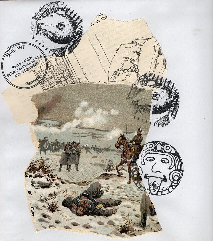 """Ausgehende MAIL - ART Projekt """" WAR """" by Reiner Langer   an Susanna Lakner , DEUTSCHLAND"""