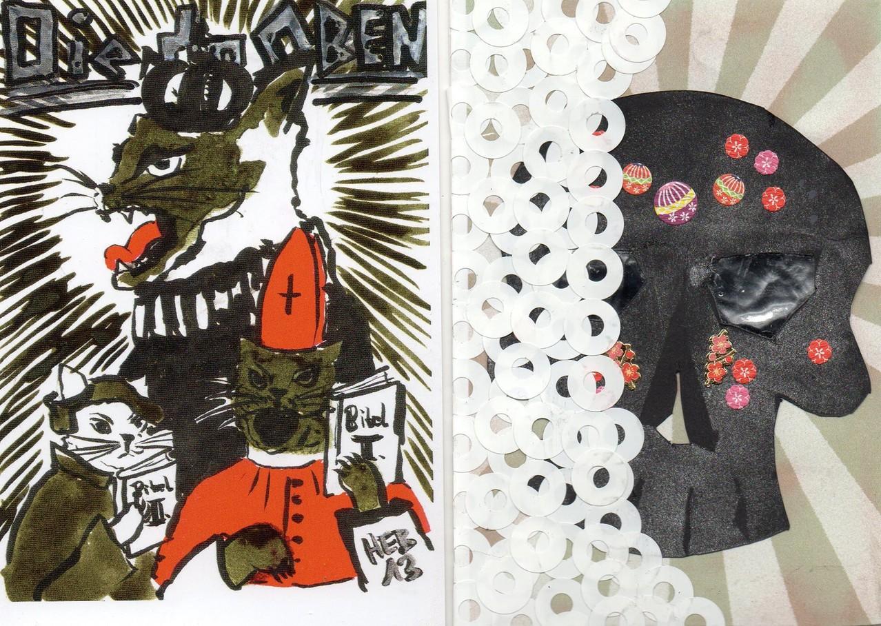 """Eingehende MAIL - ART Projekt """" WAR """" by Reiner Langer   von Heike Sackmann, Deutschland   Copyright"""