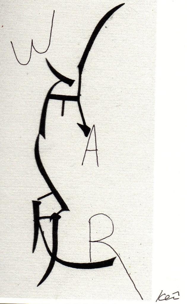 """Eingehende MAIL - ART Projekt """" WAR """" by Reiner Langer   von Keiichi Nakamura , JAPAN"""