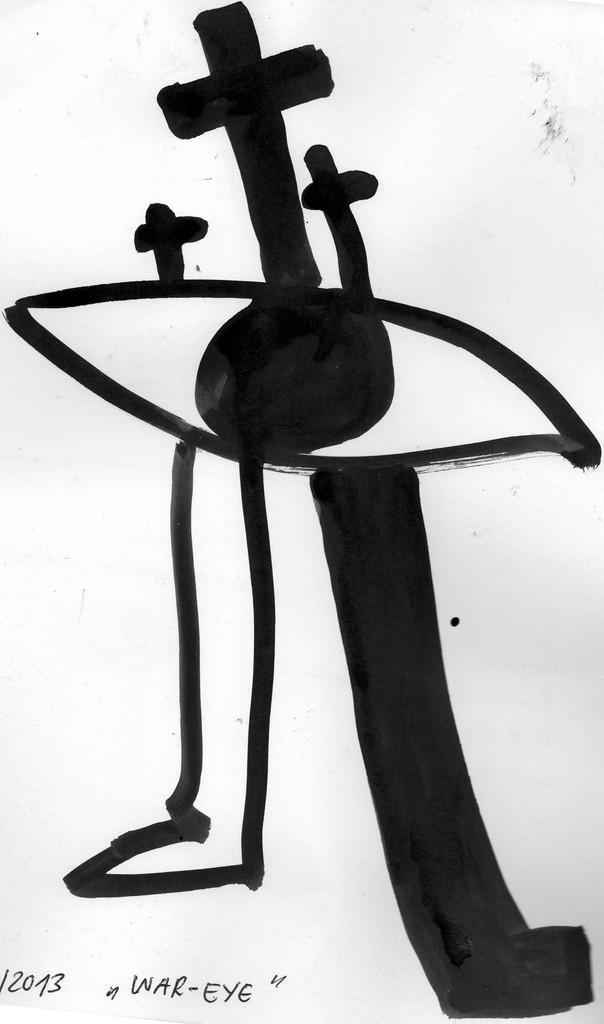 """Eingehende MAIL - ART Projekt """" WAR """" by Reiner Langer   von Roman M. Castenholz , DEUTSCHLAND"""