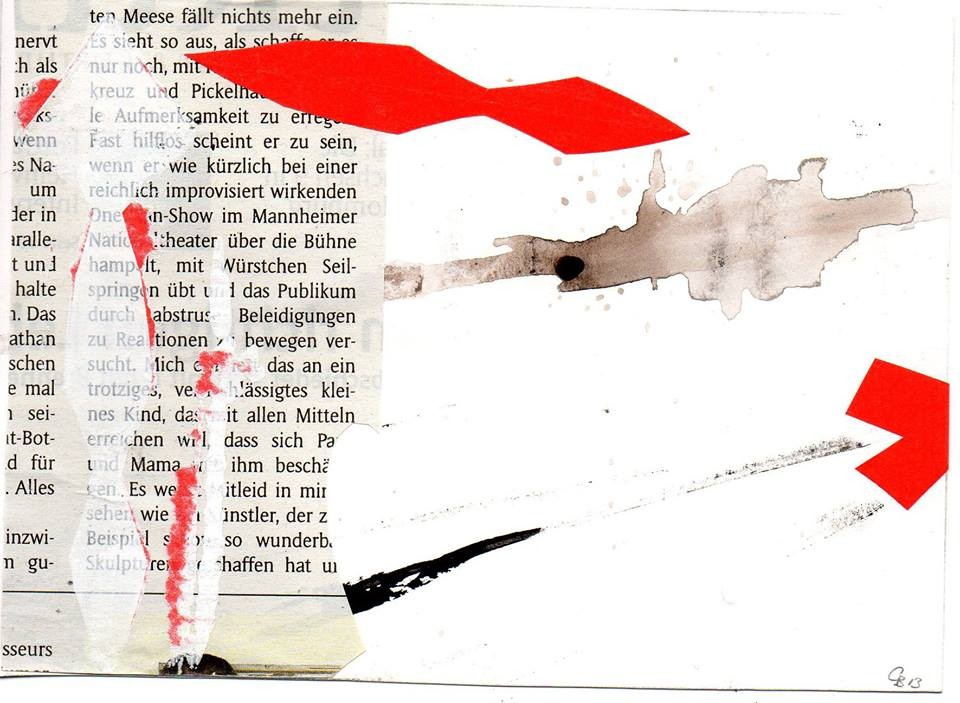 "Eingehende MAIL - ART Projekt AGAINST "" WAR "" by Reiner Langer   von Christina Blank , DEUTSCHLAND"