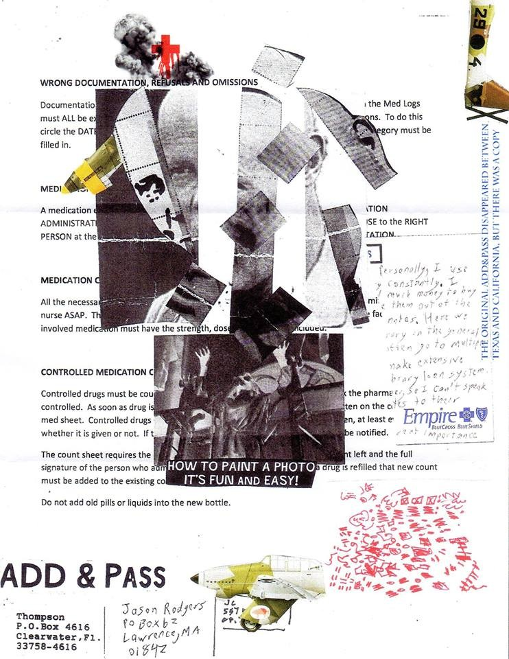 "Eingehende MAIL - ART Projekt AGAINST "" WAR "" by Reiner Langer   von CHAPMAN , USA"