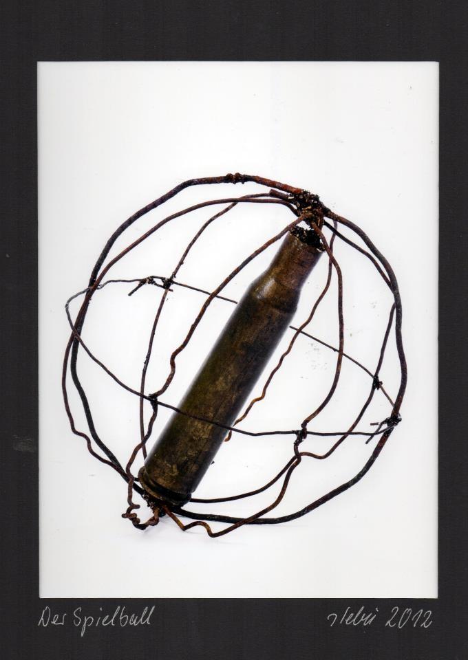 """EINGEHENDE MAIL ART PROJEKT """" WAR """" by Reiner Langer von STEFFEN BÜCHNER"""