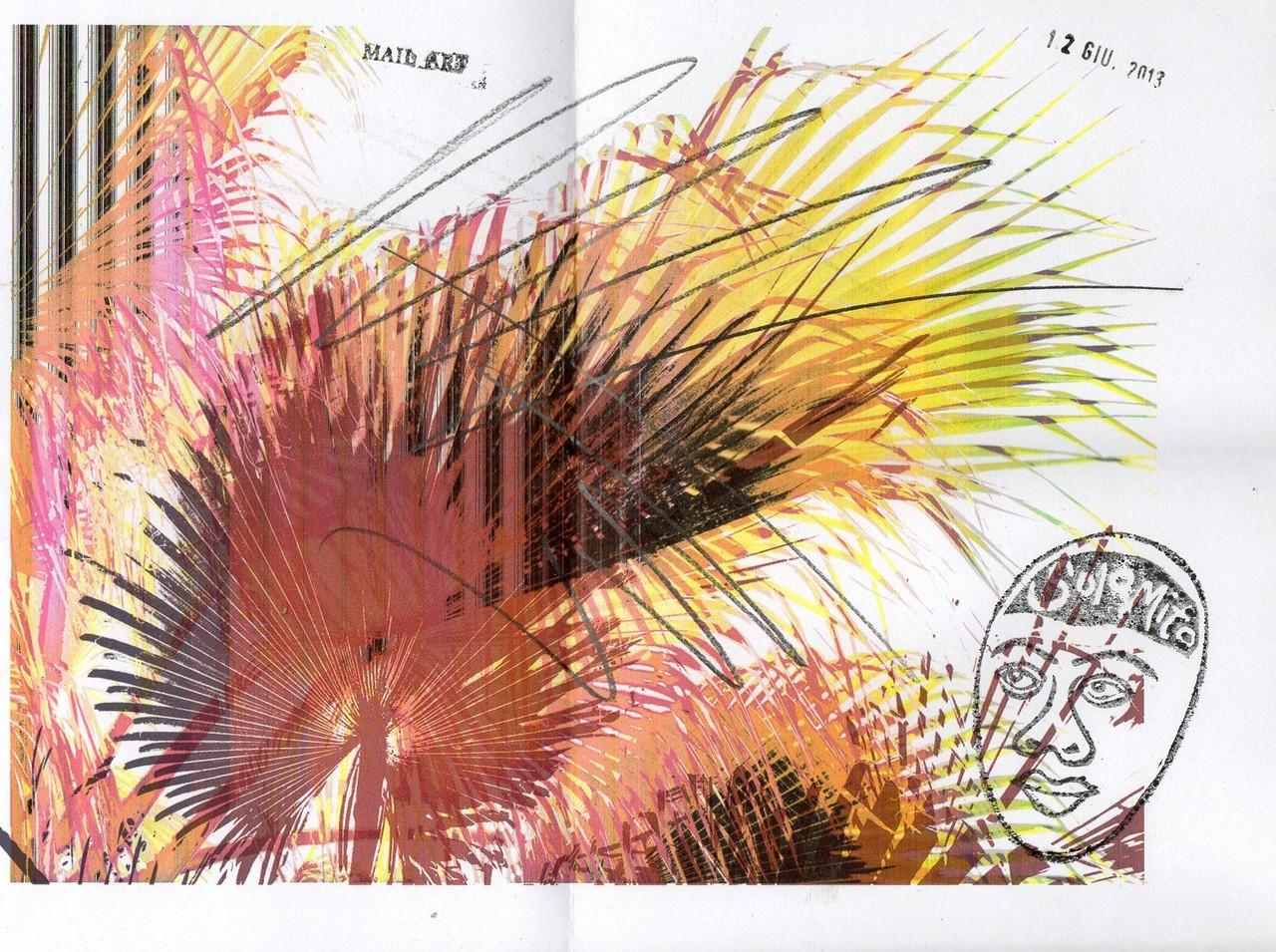 """Eingehende MAIL - ART Projekt """" WAR """" by Reiner Langer   von Luigino Solamito 1 , ITALIEN"""