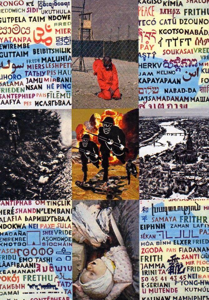 """Eingehende MAIL - ART Projekt """" WAR """" by Reiner Langer   von Henning Mittendorf , DEUTSCHLAND"""