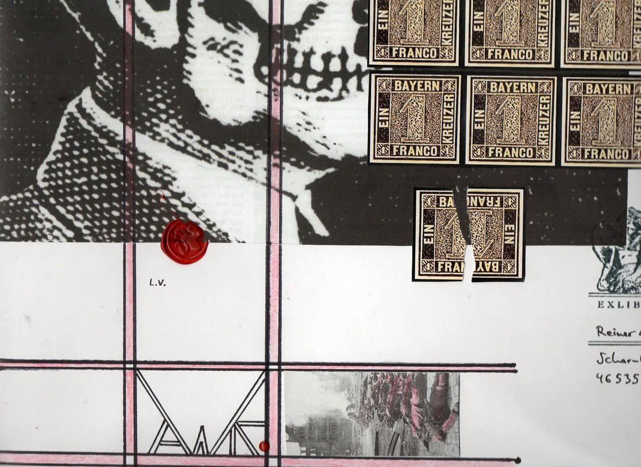 """Eingehende MAIL - ART PROJEKT AGAINST """" WAR """" by Reiner Langer   von Lionel Verney , DEUTSCHLAND"""